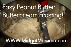 There is no need to buy a jar of frosting when you can make this simple Peanut Butter Frosting with only four ingredients.