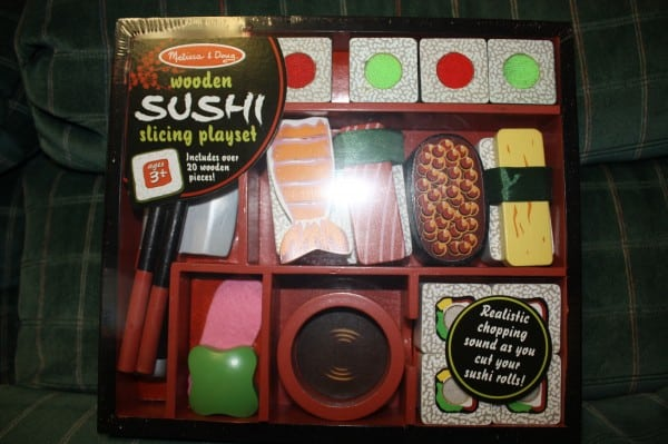 Big Birthday Bash-Melissa and Doug Sushi Slicing Set from Eco Mom{Review and Giveaway}