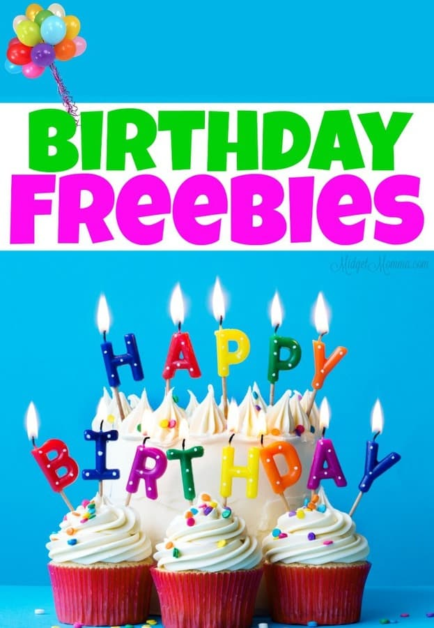 Free Stuff On Your Birthday