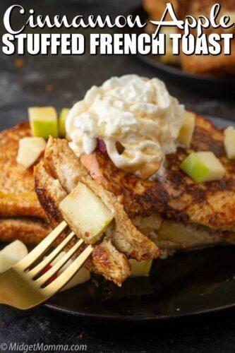 Apple Stuffed French Toast