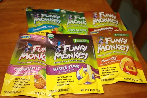 Big Birthday Bash- Funky Monkey Snacks{Review and Giveaway}