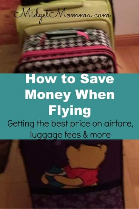 how to save money when flying