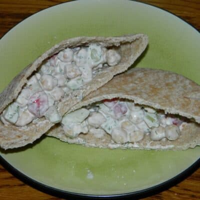 These Greek pitas might look like they are load with fat but they are only loaded with flavor. It uses things like Greek yogurt and reduced feta cheese.