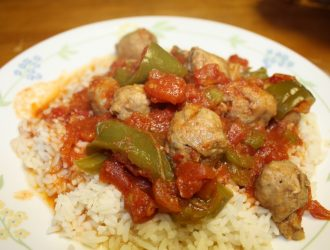 This tasty Tuesday dinner is a great crockpot and go meal. It really is a great weeknight meal where you want lots of flavor in a little amount of time.