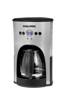 HauteLook: Kalorik Stainless Steel and Black Programmable 12 Cup Coffee Maker ONLY $43 (reg price $99)