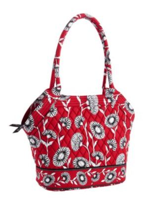 Vera Bradley Angle Tote for $34.99 (Reg price $68)