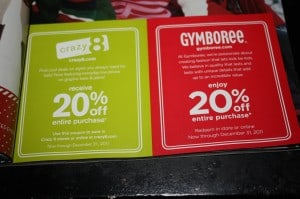Parents gymboree coupon