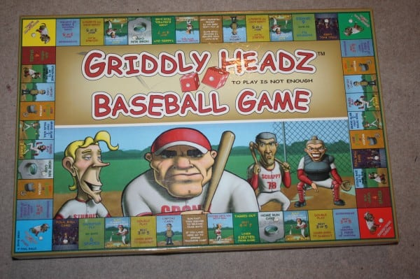Holiday Gift Guide: Griddly Headz Baseball Game (Review and Giveaway)