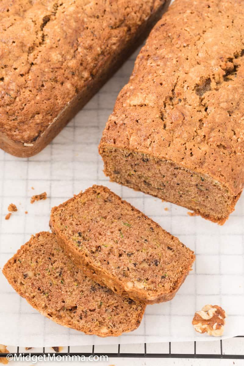 Walnut Zucchini Bread Recipe