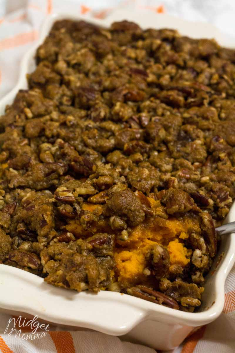 sweet potato casserole topping