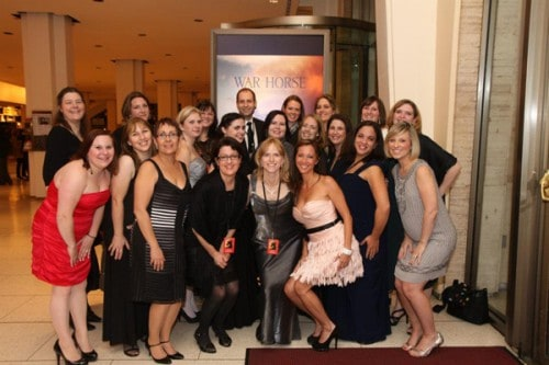 Riding in a Shuttle to the War Horse Premiere, An Amazing Blogger Race and Hollywood Stars!
