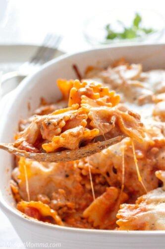 Easy Pasta Lasagna