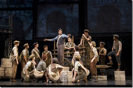 Newsies On Broadway & the interview with Steve Fickinger(the man who made it happen)