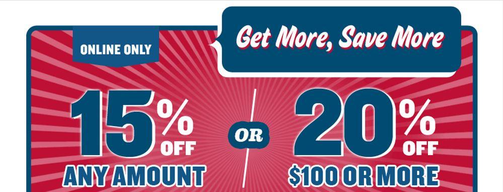 Old Navy Online Sale- 15%-20% off!