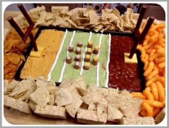 Superbowl Recipes: Stadium Snack Tray