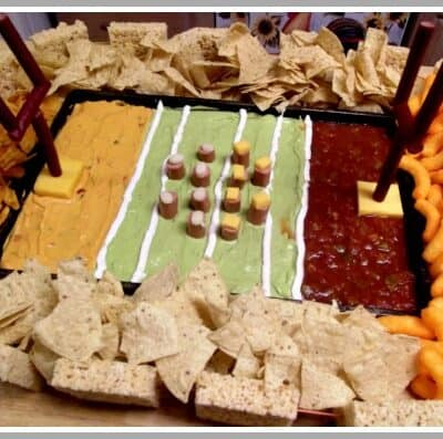 You will surely surprise and amaze all of your guest if you make this Stadium Snack Tray for your next Superbowl party. Best part is how it taste!