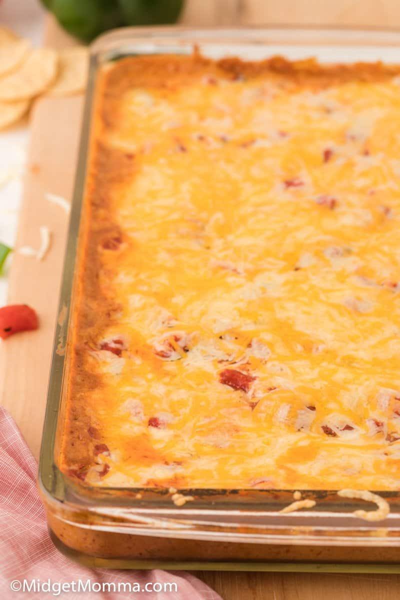 Cheesy Baked Taco Dip