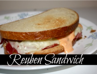 Reuben Sandwich is corn beef covered in gooey Swiss cheese, creamy thousand island dressing on toasted rye bread. Its even better with homemade corn beef.