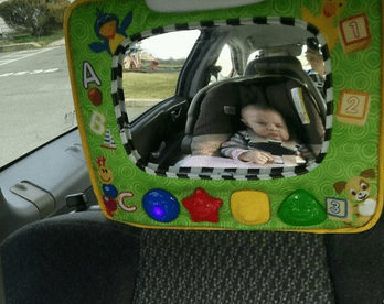 Review Baby Einstein Music Amp Discovery Travel Mirror