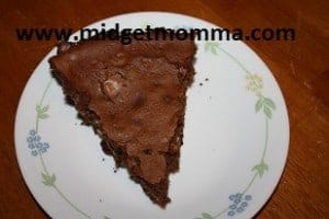 If you are having trouble deciding if you want a brownie or some cheese cake than I have the recipe for you. This cheese cake is the perfect combination.