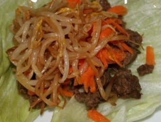 Crockpot Beef Lettuce Wraps. Make these tasty and easy beef lettuce wraps in your crockpot. They taste just like you get at a restaurant.