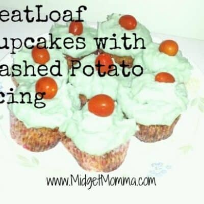 April Fools Day Meatloaf Cupcakes - Meatloaf cupcakes with mashed potato Icing Easy to make and perfect for April's fools day for the kids :)