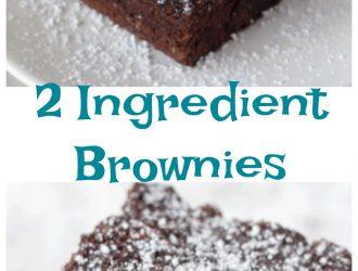 2 Ingredient Brownies