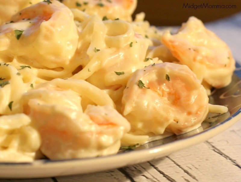 Shrimp Alfredo Recipe With Homemade Alfredo Sauce