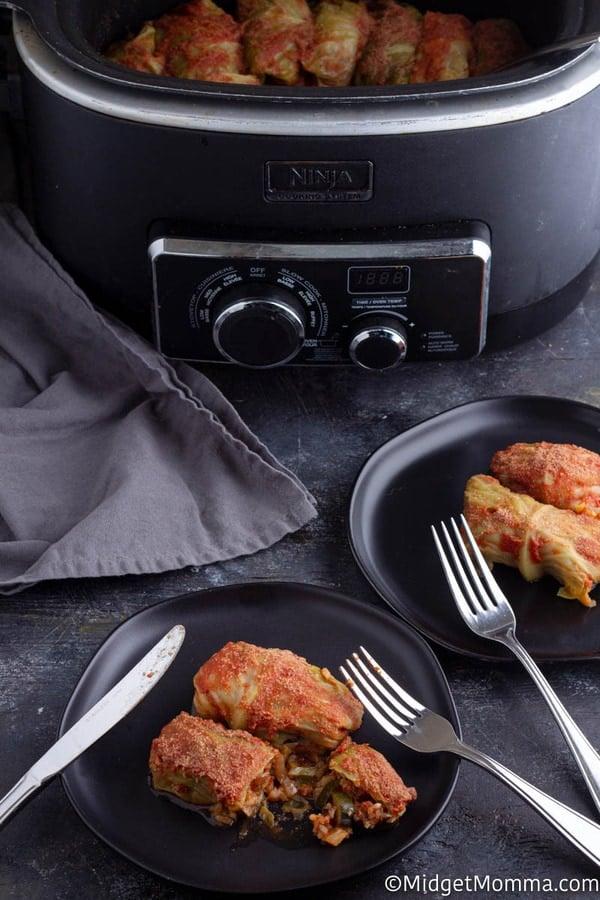 Crock pot stuffed cabbage rolls recipe