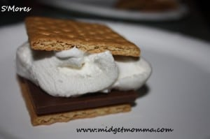 Who said you have to be camping to get the great camp fire taste of smores. Well all you will need to make theses smores are your grill.