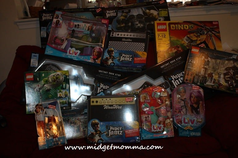 Target Toy Clearance Shopping Trip: Total Spent- $127.06 Total Saved- $256.85