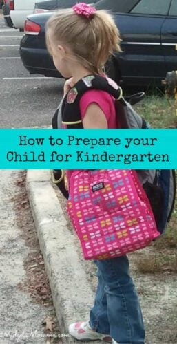 Preparing Your Kid for Kindergarten