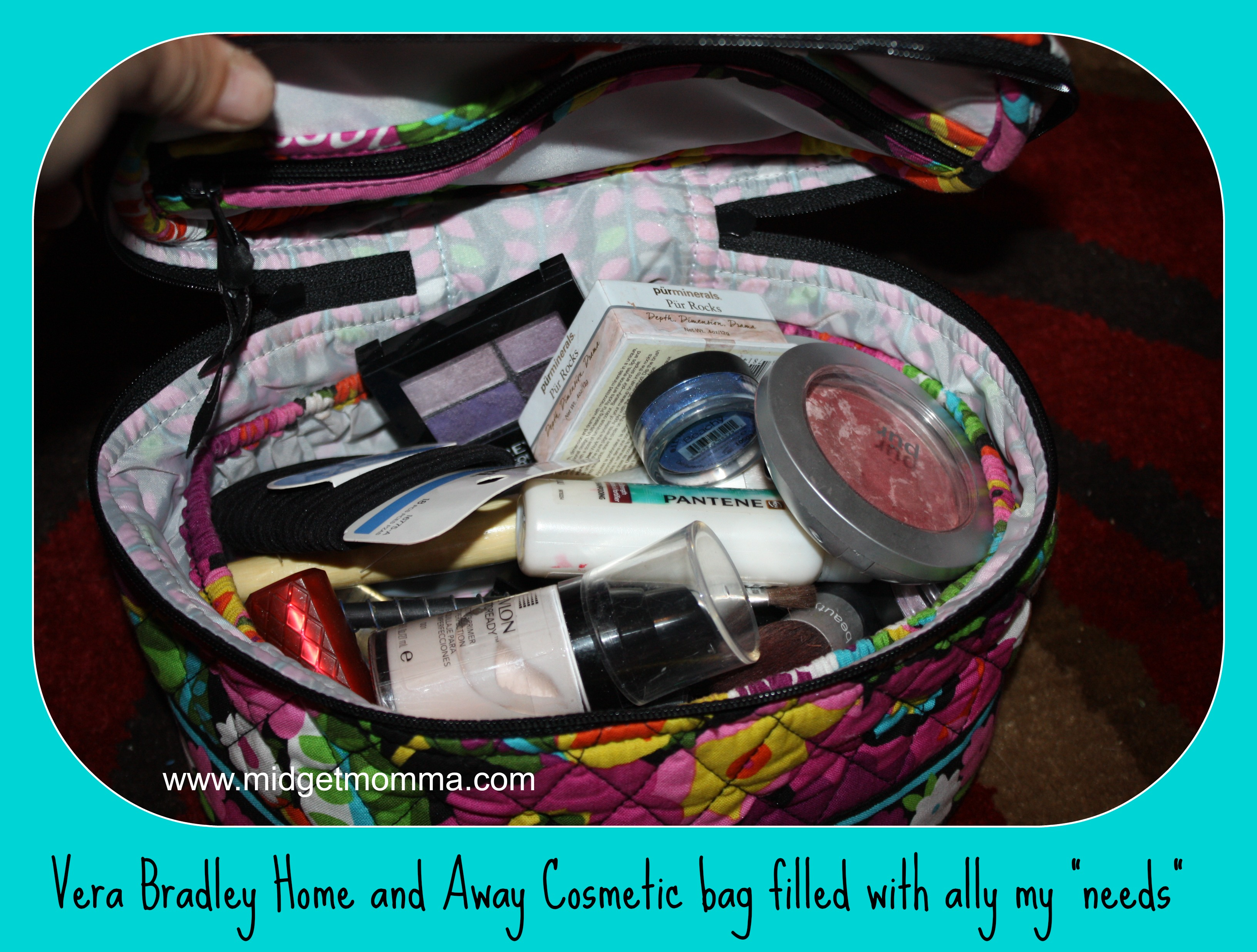 1f88b1f16e62 Review} Travel in Style with Vera Bradley's Grand Traveler & Home ...