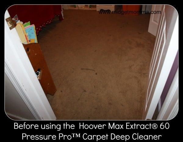 Get the Dirt out of Your Carpets with The Hoover Max Extract® 60 Pressure Pro™ Carpet Deep Cleaner