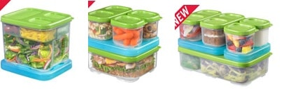 {Review} Easy Lunch Packing with Rubbermaid LunchBlox