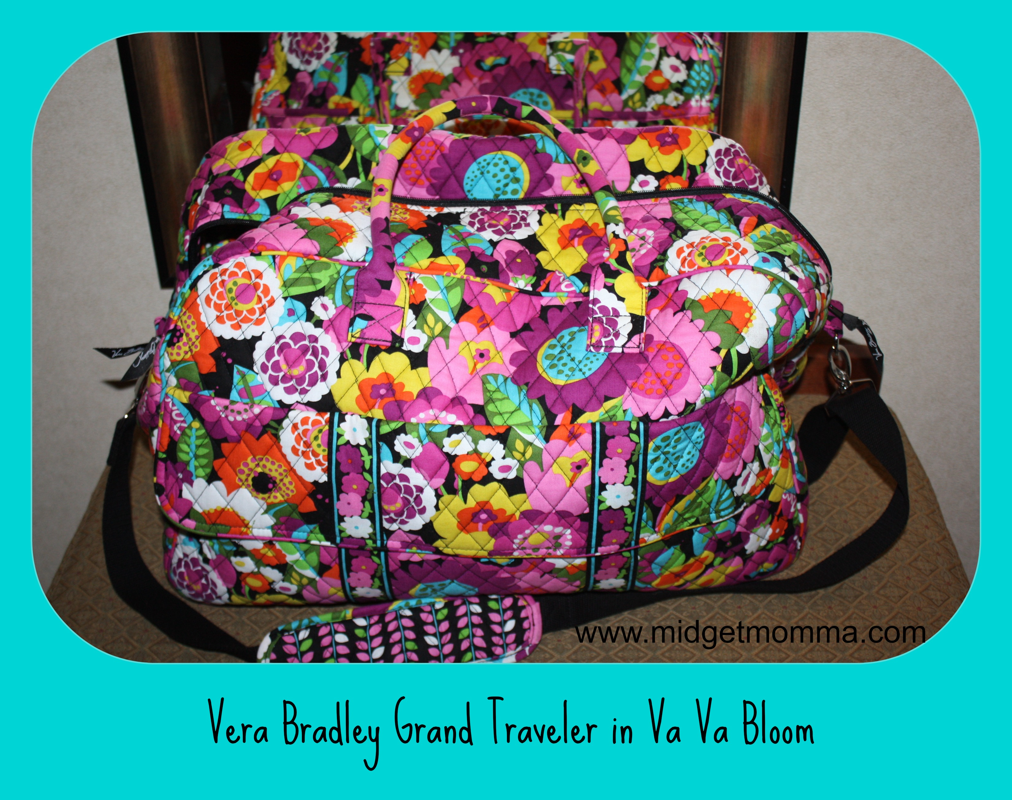 Vera Bradley All In One Iphone  Plus Crobbody Wristlet