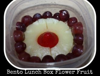 Creative Lunch Ideas: Fun Fruit Salad -Flower Shaped Fruit Salad