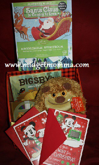 {Holiday Gift Guide} Happy Holidays with Hallmark! Recordable Books, Interactive books & Holiday Card Review