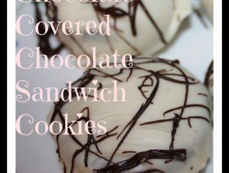 Of course oreo's are great on their own but when you coat them in chocolate they turn into new great treat. All you need are chocolate cookies and chocolate