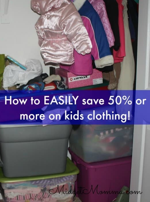 how to save 50 or more on kids clothing