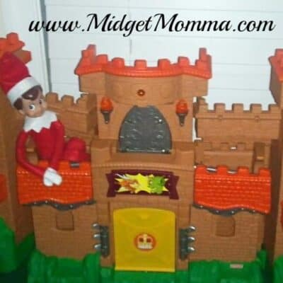 Elf on the Shelf Castle Takeover