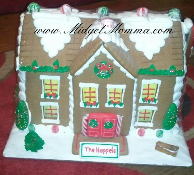 {Holiday Gift Guide} Personalized Gingerbread House from Red Envelope