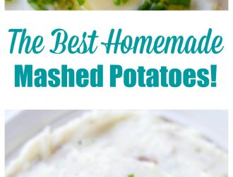 The Best Homemade Mashed Potatoes!!