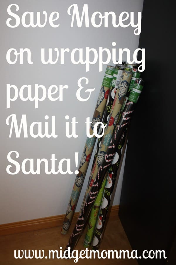 Time to Buy our Wrapping Paper to Mail to Santa!