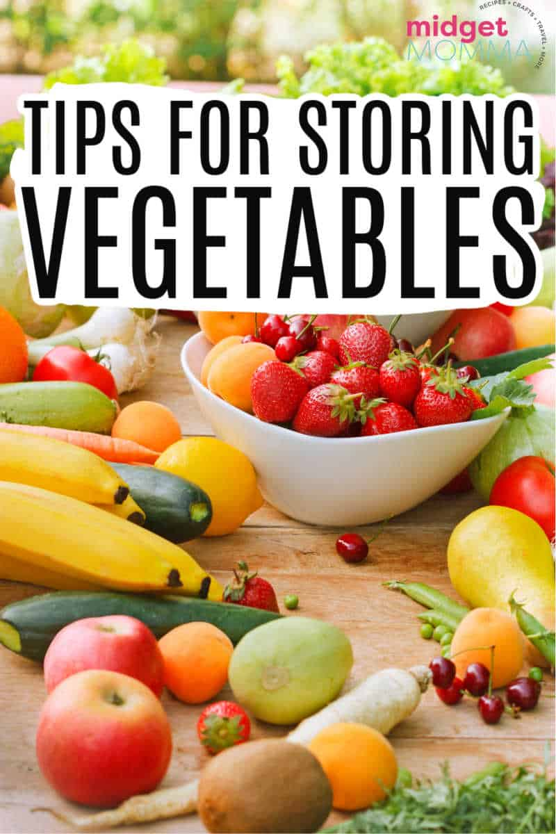 tips for storing veggies