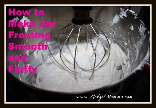 Sometimes it is just simpler to use a jar of frosting. The only problem is it can be difficult to spread it nicely on the cake. This tip will surely help.