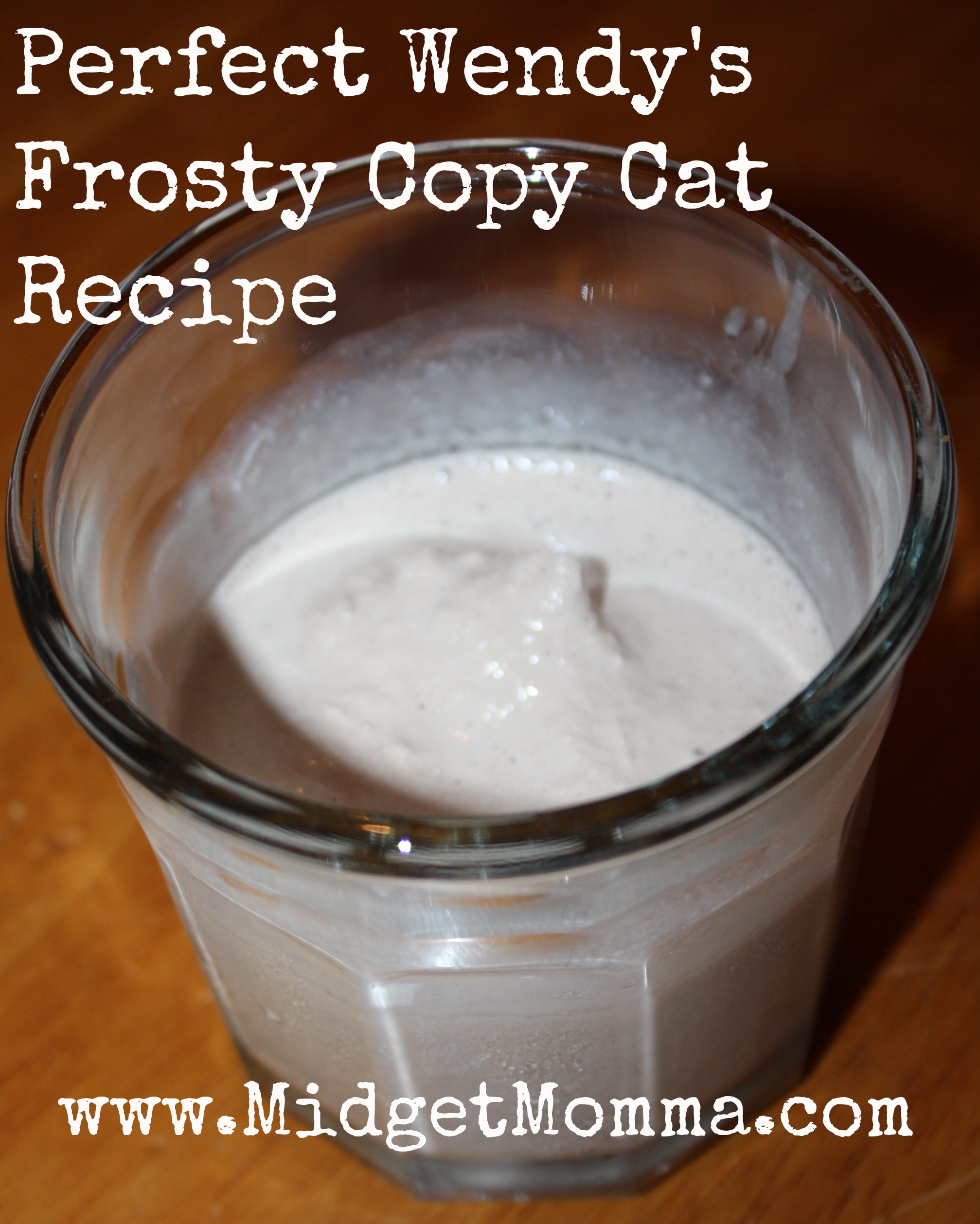 Wendy's Frosty Copy Cat Recipe this Wendy's Frosty Copy Cat Recipe is easy to make and tastes just like the real thing. Created by an ex wendy's employee