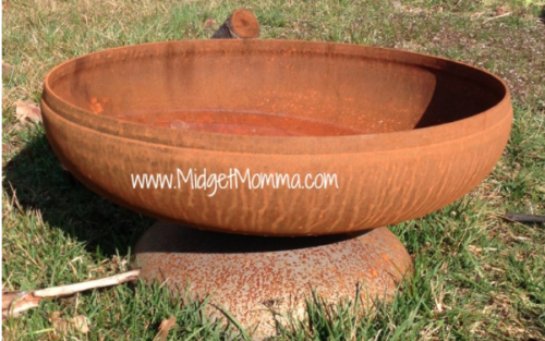 ohio flame fire pit color