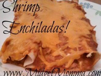 {Recipe} Shrimp Enchiladas