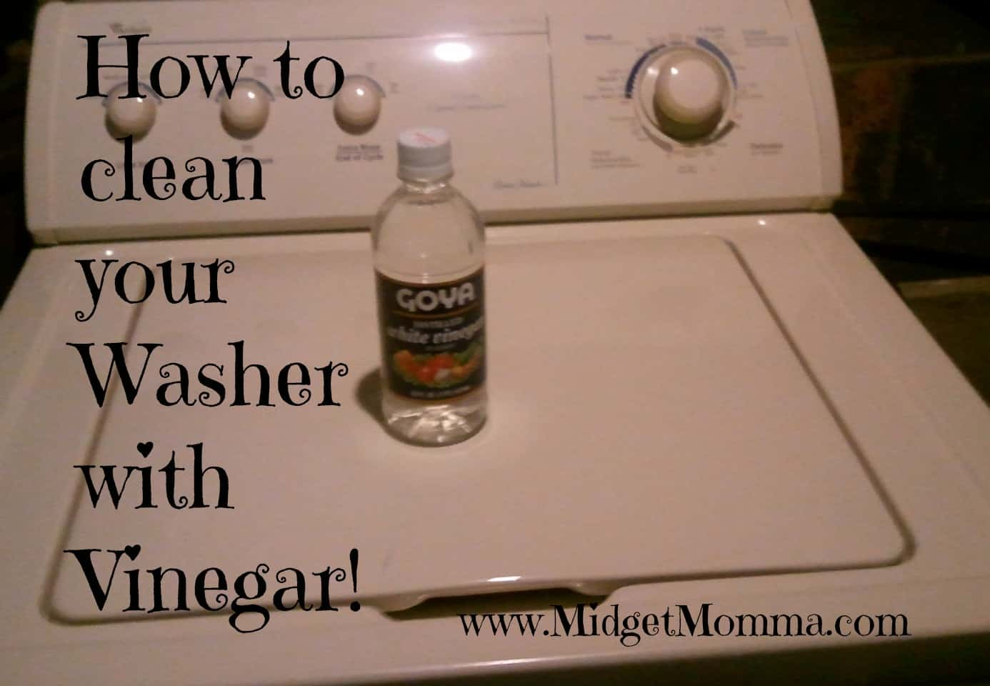 Cleaning Tips: Clean your washer with Vinegar